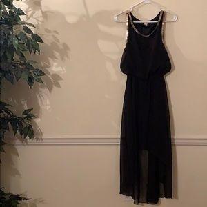 High/Low Black Dress